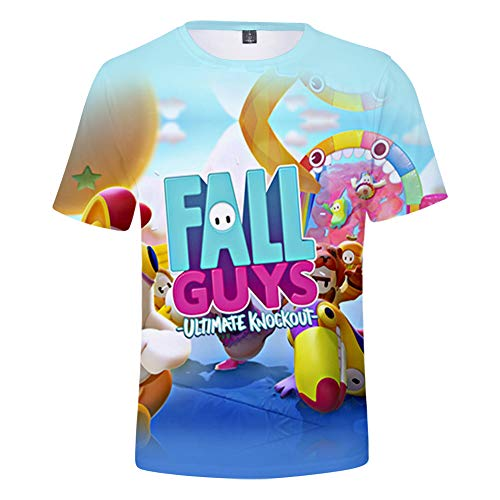 Camisetas oficiales fall guys 3d