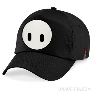 Gorra negra Fall Guys