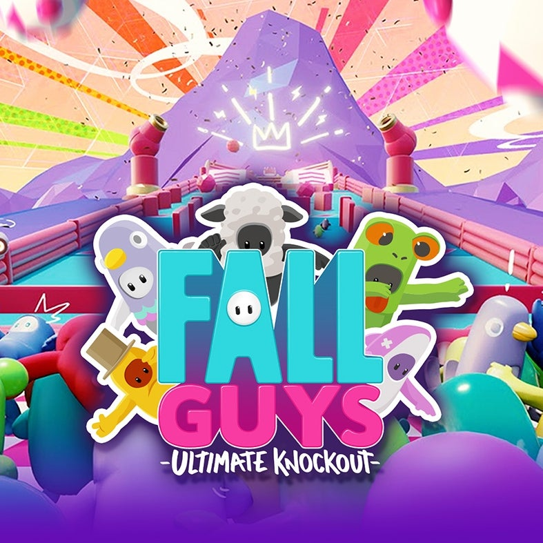 posters 3d fall guys logo